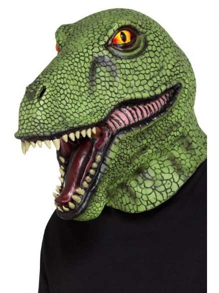 Dinosaur Full Over Head Mask